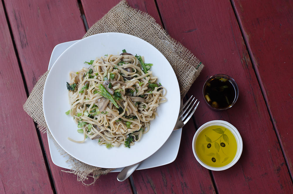 Braised Yee Fu Noodles w./Mushrooms - 2014