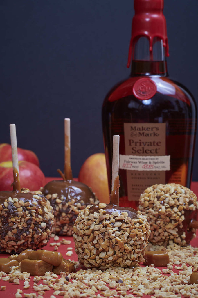Spiked Caramel Apples - 2019